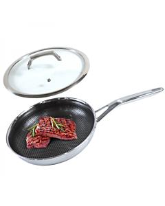 【包邮】Joydeem 不锈钢煎锅FPAN26 防刮不粘 轻油少烟 26cm