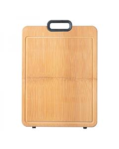 【包邮】双枪(Suncha)整竹砧板切菜板 加厚实心 硅胶防滑 40*30*2.2cm