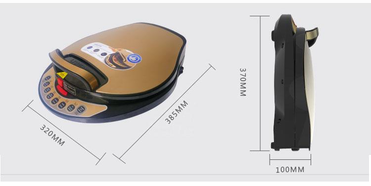 利仁电饼铛LR-A434 产品参数与规格
